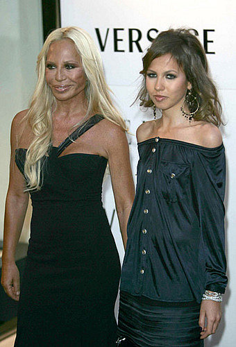her daughter Allegra Versace Beck is undergoing treatment for anorexia.